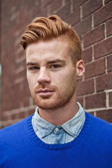Popular Hairstyles For Gingers | 17 best images about man hair on pinterest undercut