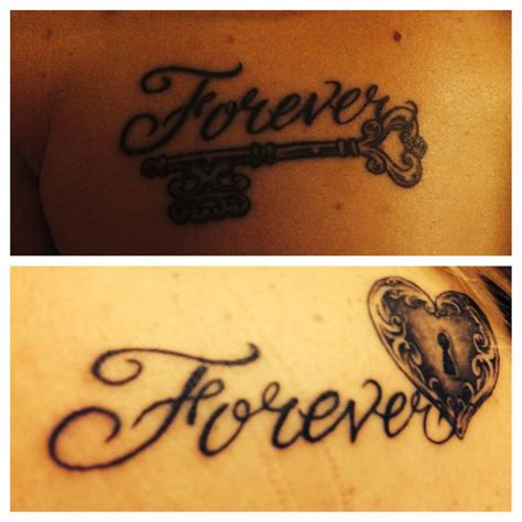forever couple tattoos pin by richardson on couples tats