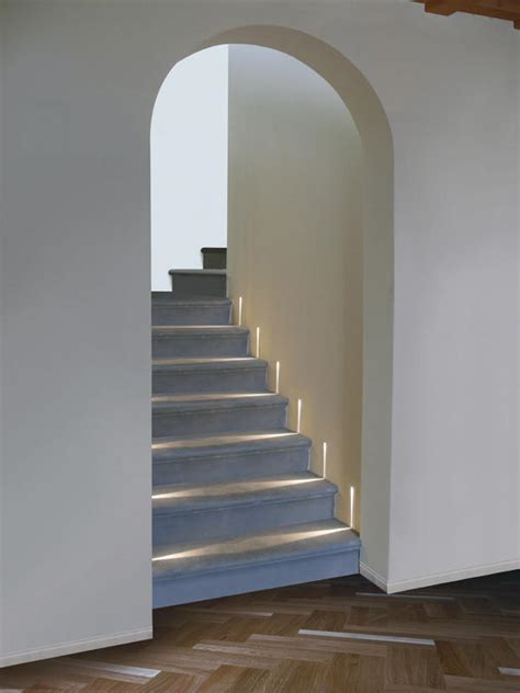 simes illuminazione step recessed wall lights from simes architonic
