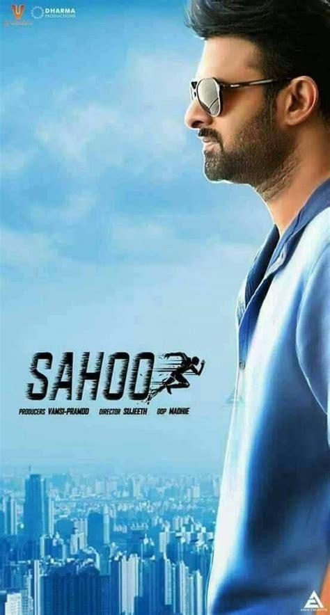 prabhas movie sahoo pre look posters