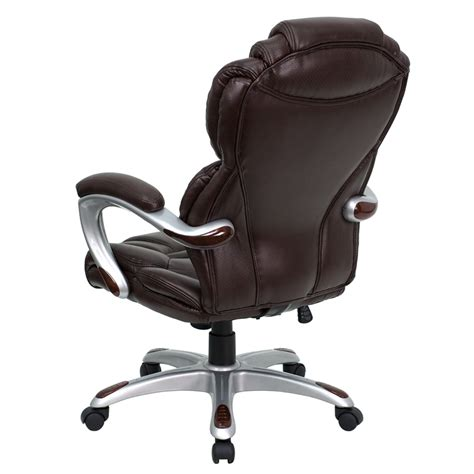 Flash Furniture High Back Brown Leather Executive Office Flash Furniture High Back Executive Office Chair