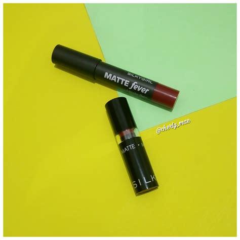 Silkygirl Go Matte silkygirl go matte lipcolor vs silkygirl matte fever