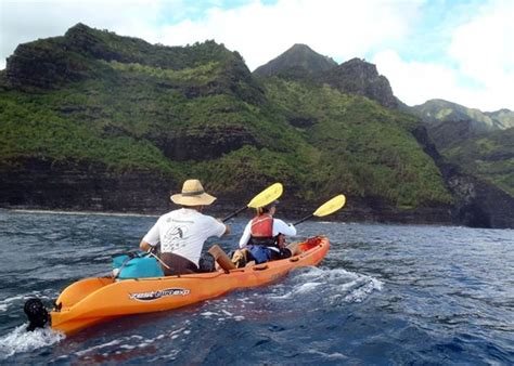 napali coast boat tours south shore kauai kayak tours kauai