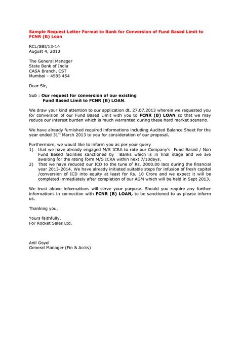 Letter To Bank To Loan how to write a letter bank manager for loan settlement