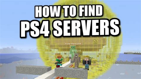how to buy full version of minecraft ps4 minecraft ps4 how to find servers tutorial ps3