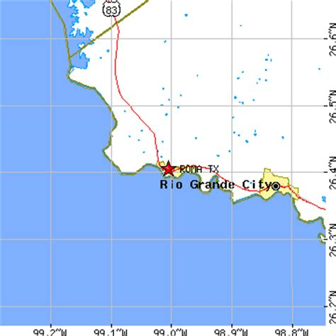 roma texas map roma texas tx population data races housing economy