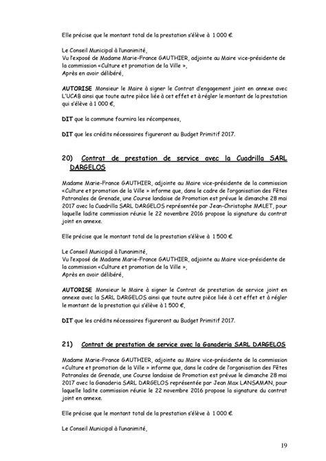 Contrat Cadre Prestation De Service comment r 233 diger un contrat de prestation de service