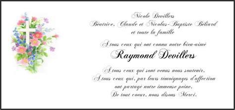 Exemple De Lettre De Remerciement Pour Un Enterrement Au Revoir Grand P 232 Re Beliard Net