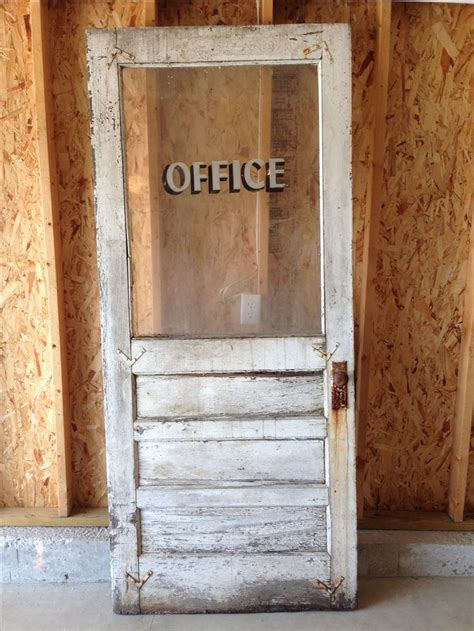vintage bathroom door very rough rustic vintage office door i picked it ll look great hanging on the wall