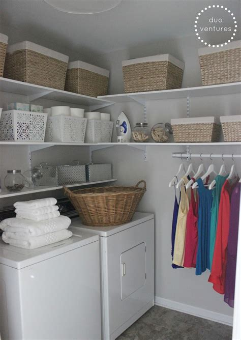 Storage Laundry Room Organization Duo Ventures Laundry Room Makeover