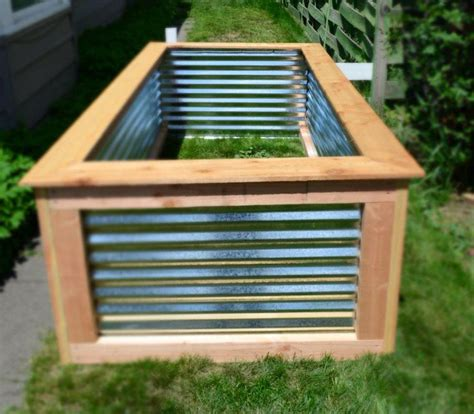 Galvanized Steel Garden Beds by Awesome Raised Garden Bed For The Home Craft Ideas