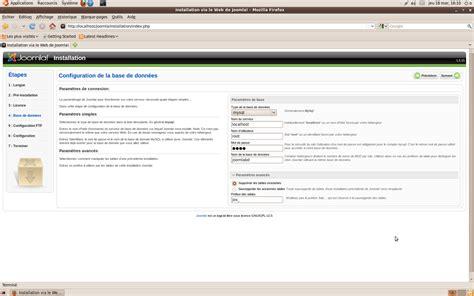 configure joomla xp joomla configuration de la base de donn 233 es informateque