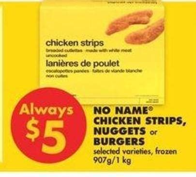 Ch Chicken Nugget 1 Kg no name chicken strips nuggets or on sale salewhale ca