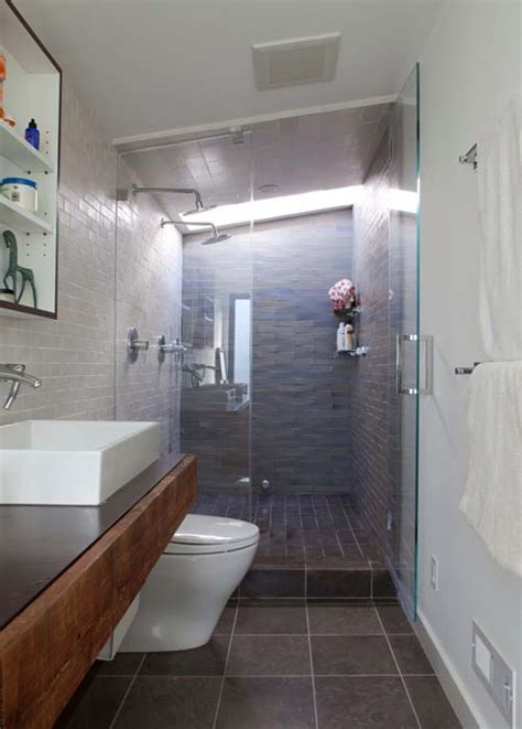Narrow Bathroom Ideas by Narrow Bathroom Design Ideas For Home Home Design Ideas