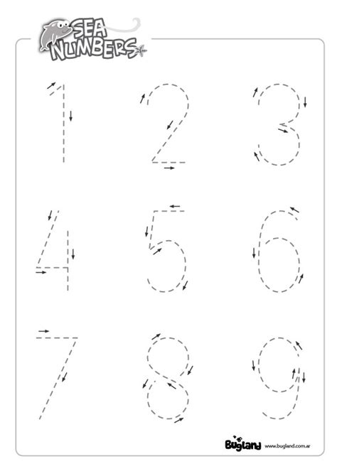 Trace Search Printables Numbers Tracing Gozoneguide Thousands Of Printable Activities