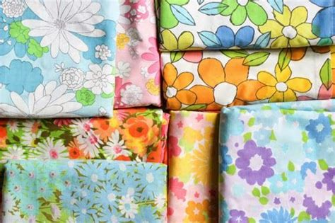 diy printable fabric sheets fabric inspired by vintage sheets in color order behind
