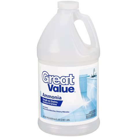 great value ammonia 64 oz cleaning supplies walmart com