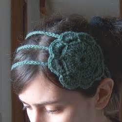 crochet flower headband diy craft list free crochet patterns