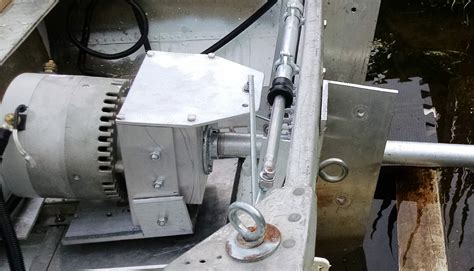 build your own electric boat motor how to build a surface drive mud motor impremedia net