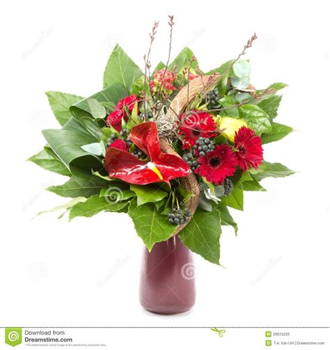 Bunch Of Flowers In A Vase by Bunch Of Different Colorful Flowers In A Vase Stock Photos