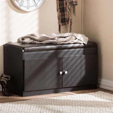 simms dark brown modern shoe cabinet baxton studio simms wood modern shoe cabinet in white