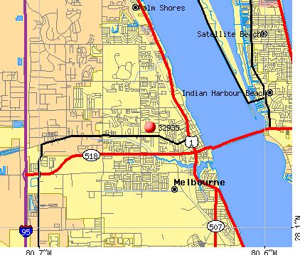 melbourne florida zip code map 32935 zip code melbourne florida profile homes