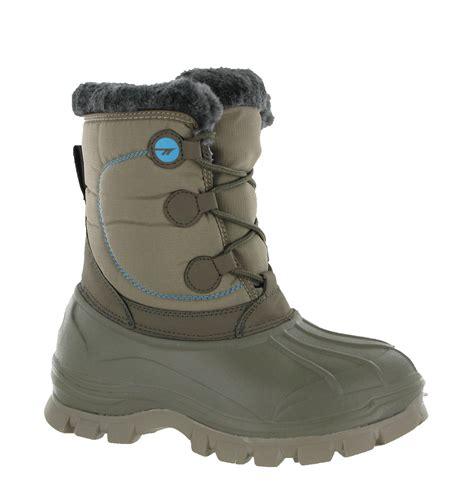 lightweight snow boots new womens hi tec cornice lightweight winter warm comfy