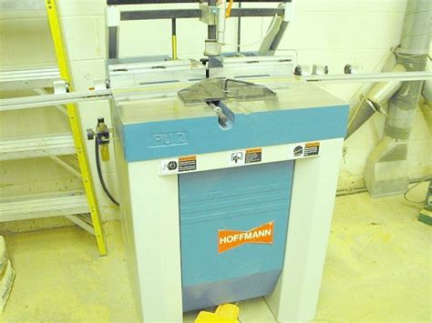 hoffman woodworking used hoffman pu2 dovetail routing machine pre owned