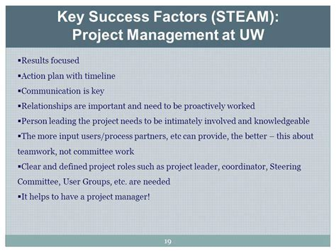Project Management Exles by Successfactors Project Management Successfactors Project