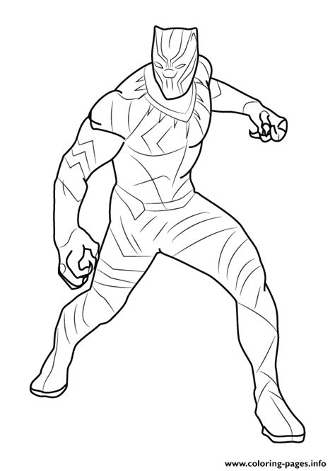 blank coloring pages avengers how to draw black panther coloring pages printable
