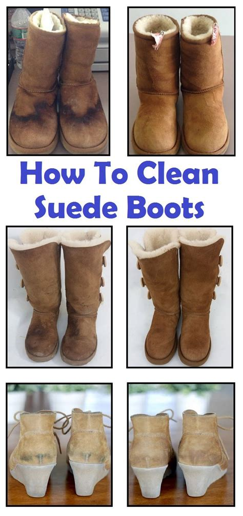 how to clean suede boots detox home