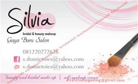 desain kartu nama makeup artis contoh desain kartu nama percetakanasia com