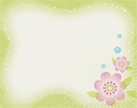 background templates flower for powerpoint clipart clipart suggest