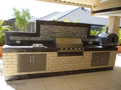 Stainless Outdoor Kitchen Cabinets by Diy Alfresco Kitchen Infresco Can Provide You With