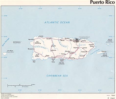 Puerto Rico Map Images by Puerto Rico Geography And Maps