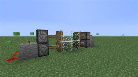 Piston Door by The Weekly Ploopy Piston Doors Minecraft