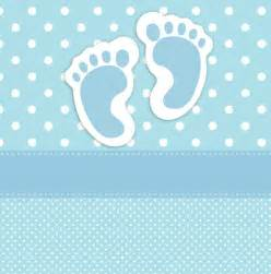 free baby shower card template baby footprints card template free stock photo