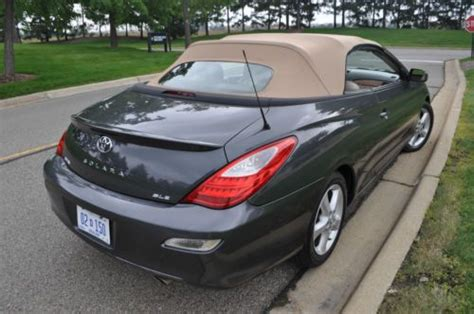security system 2008 toyota camry solara engine control find used 2008 toyota solara sle convertible navi v6 heated leather rebuilt title in dearborn