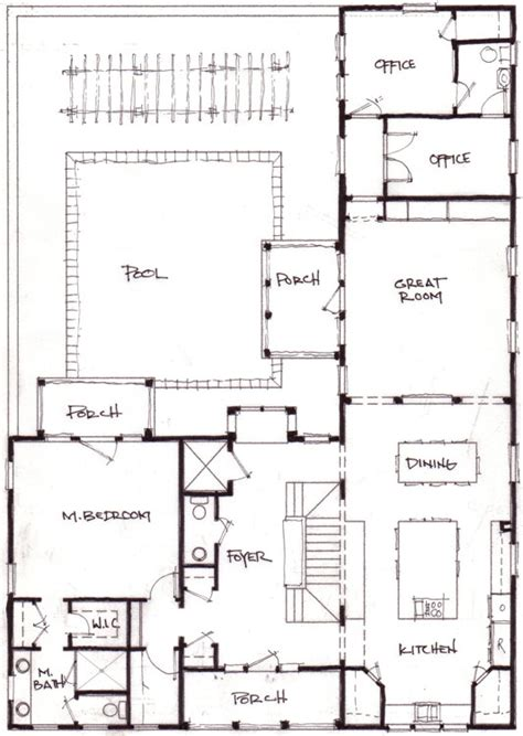 l shaped house floor plans 1000 images about house plans on pinterest ranch house