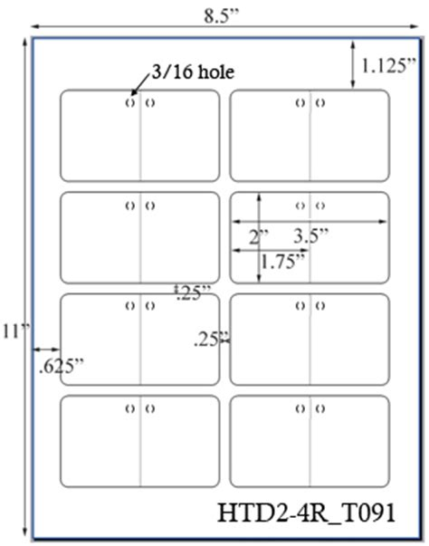 60 printable cardstock square hang tags with holes 2 x 2 custom printed hang tag sheets