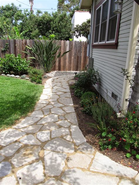 fairy yardmother landscape design broken concrete urbanite pathways