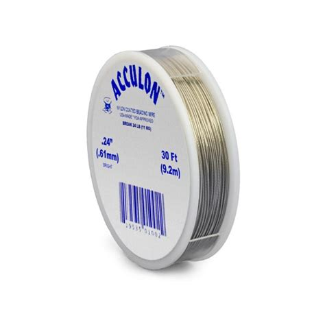 acculon tiger bead stringing wire for jewelry