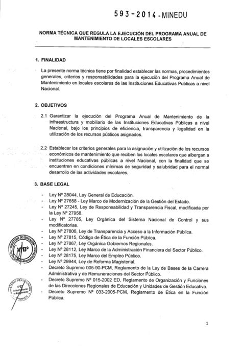 norma tcnica para mantenimiento de locales escolares 2016 rm n 176 593 2014 minedu norma t 233 cnica que regula la