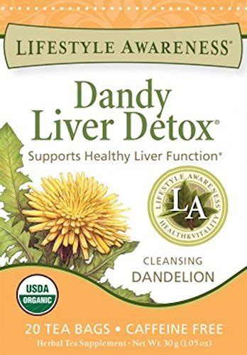 Dandy Liver Detox Tea Side Effects lifestyle awareness teas dandy liver detox tea