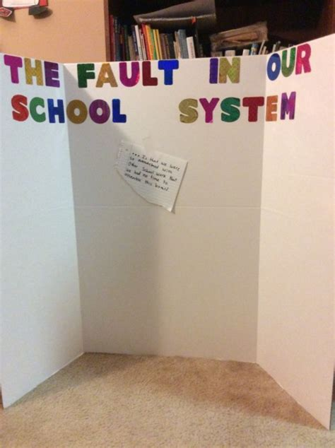 education tumblr the fault in our school system