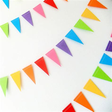 Paper Bunting - christian teachings about peace and conflict peace and