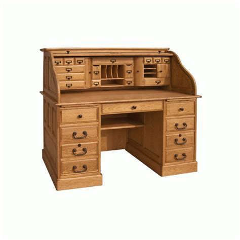 roll top desks for home office 54 quot deluxe roll top desk 8854 home office desks oak