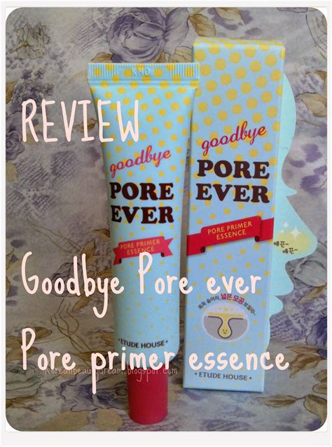 Etude House Goodbye Pore etude house bye pore primer essence korean