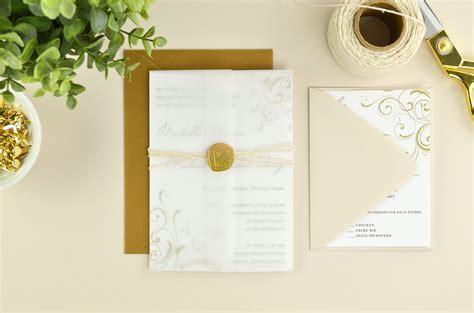 4 Ways to DIY Elegant Vellum Wedding Invitations   Cards