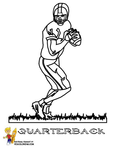 nfl quarterback coloring pages free dallas cowboys stadium coloring pages